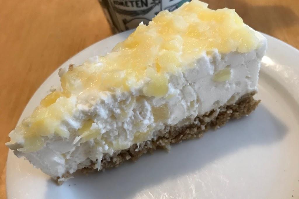 Ananas-kookos-juustokakku (Pina colada -kakku)